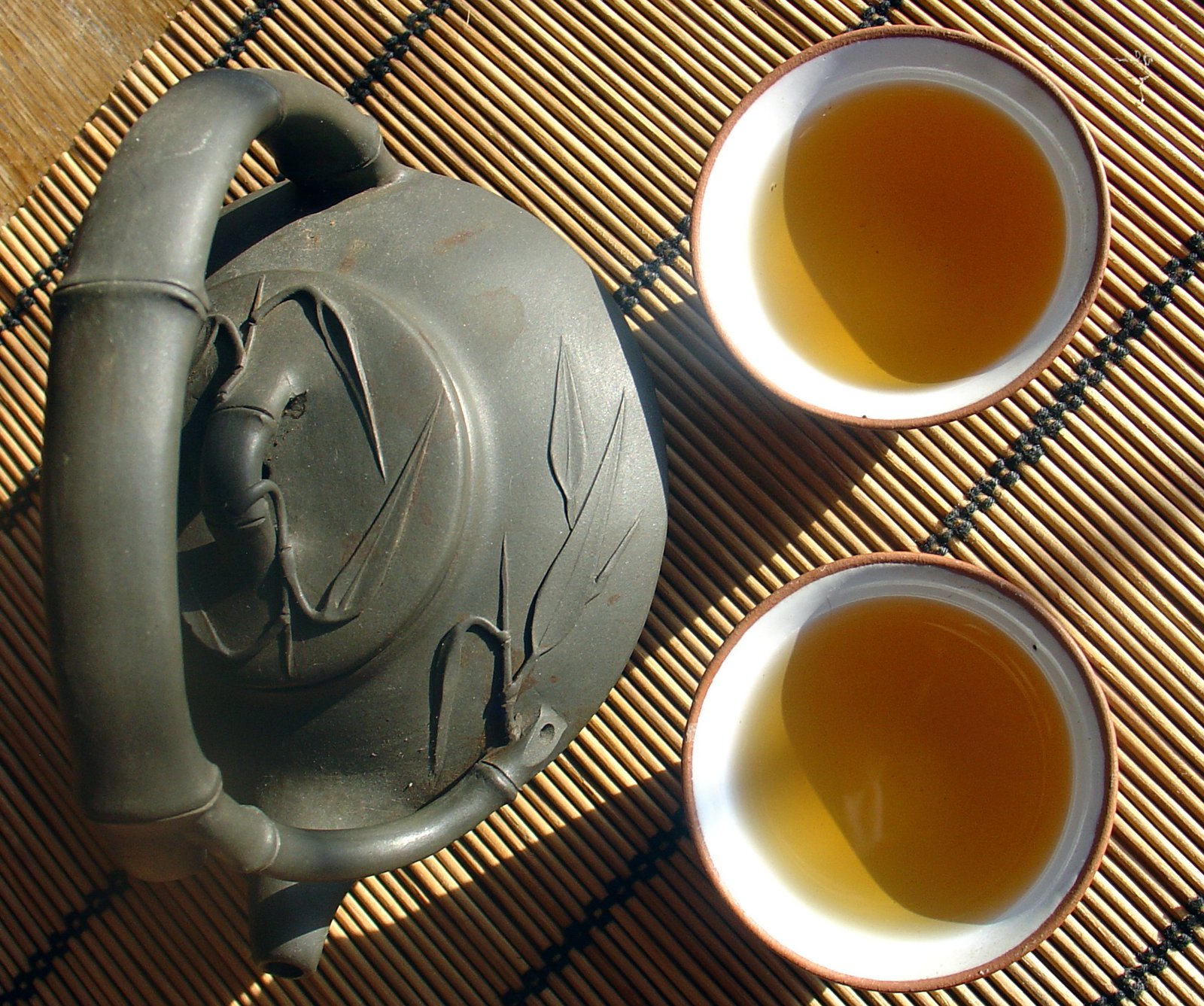 Delicious Cup of Bai Hao Oolong Tea
