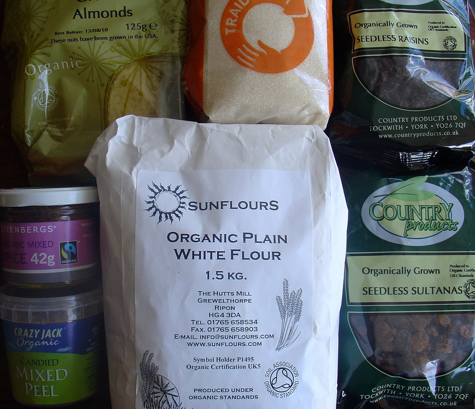 Ingredients For Simnel Cake