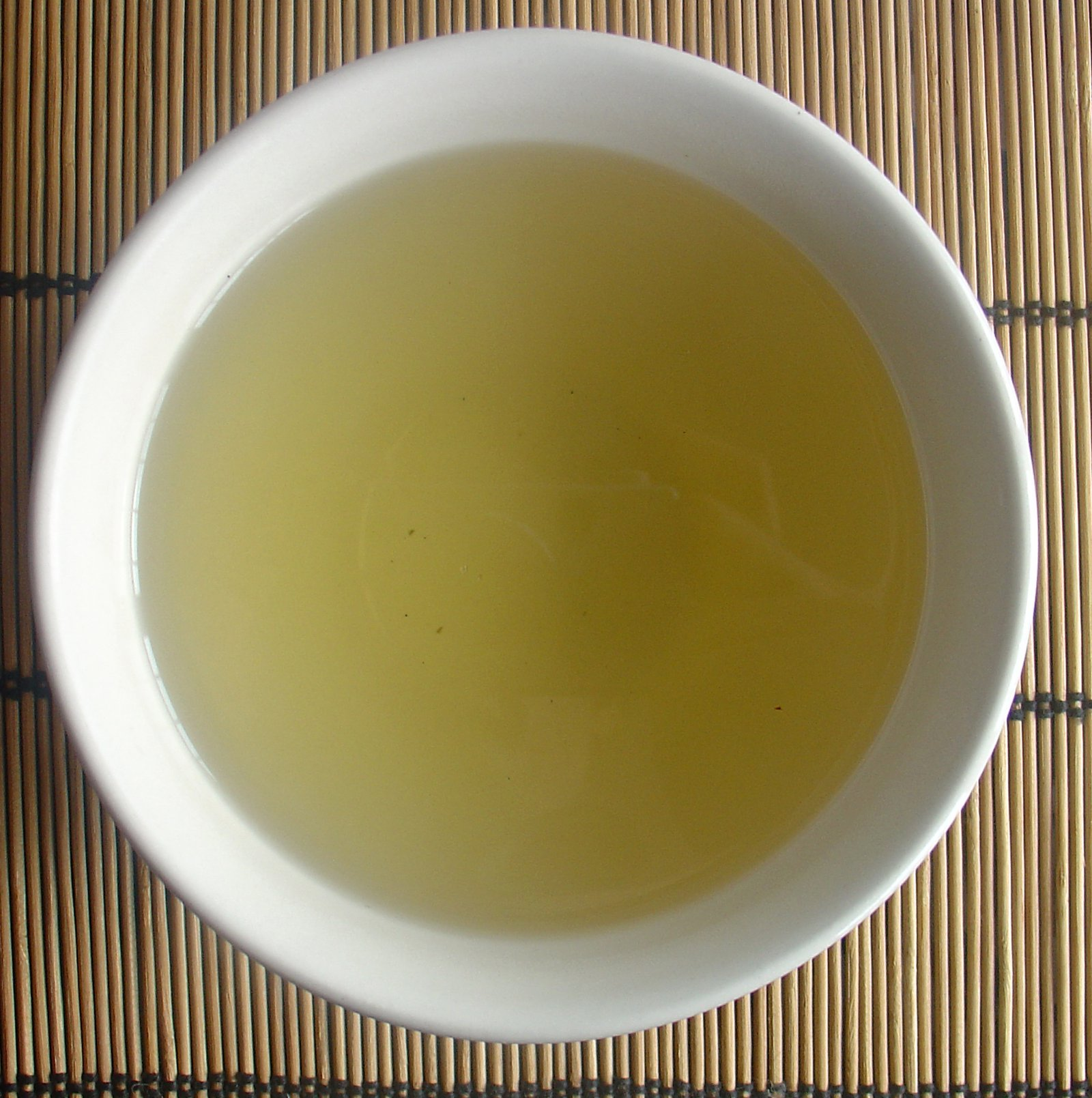 Brewed Bowl Of China Green Tea - Yin Yuan