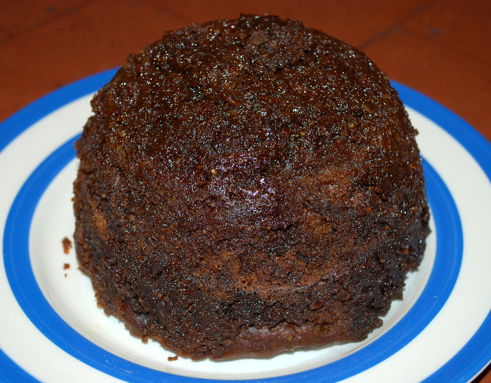 Steamed Ginger Sponge Pudding