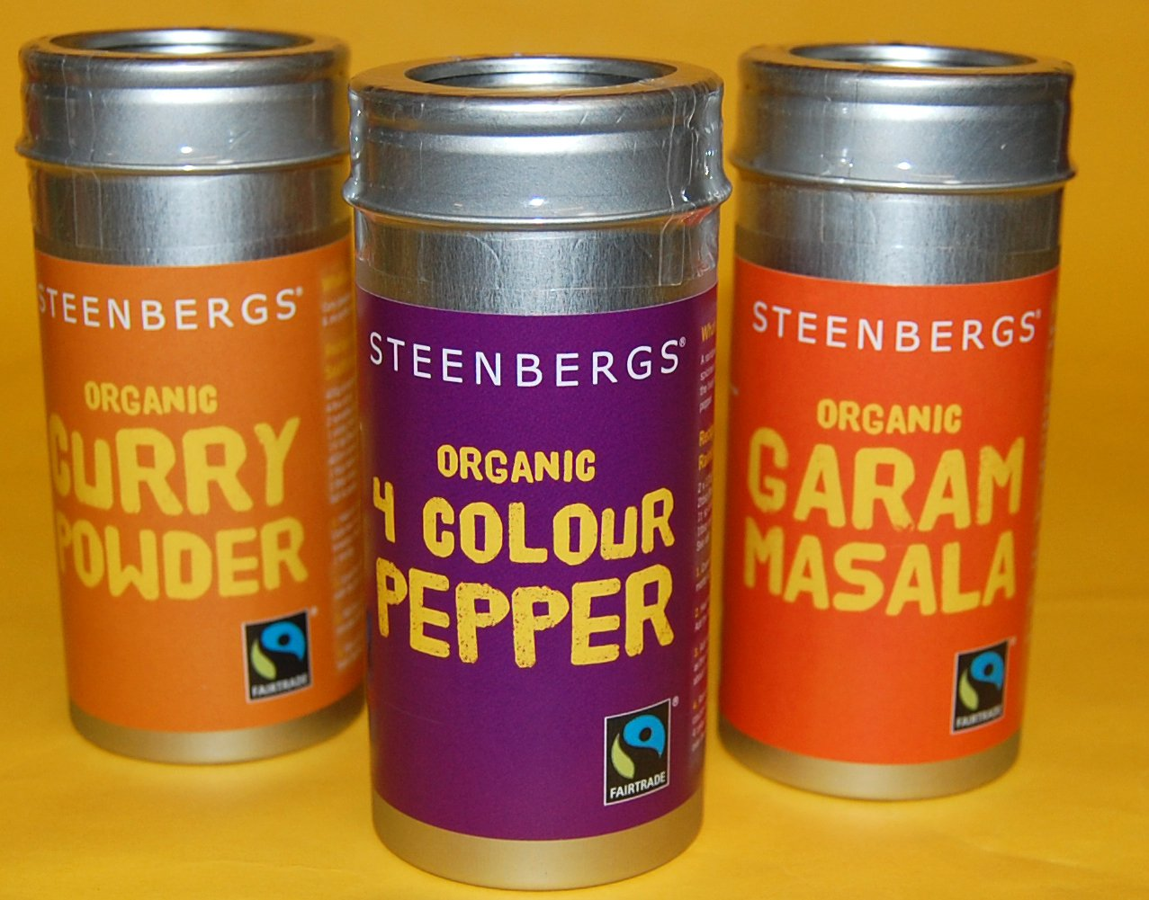 Steenbergs new spice tins