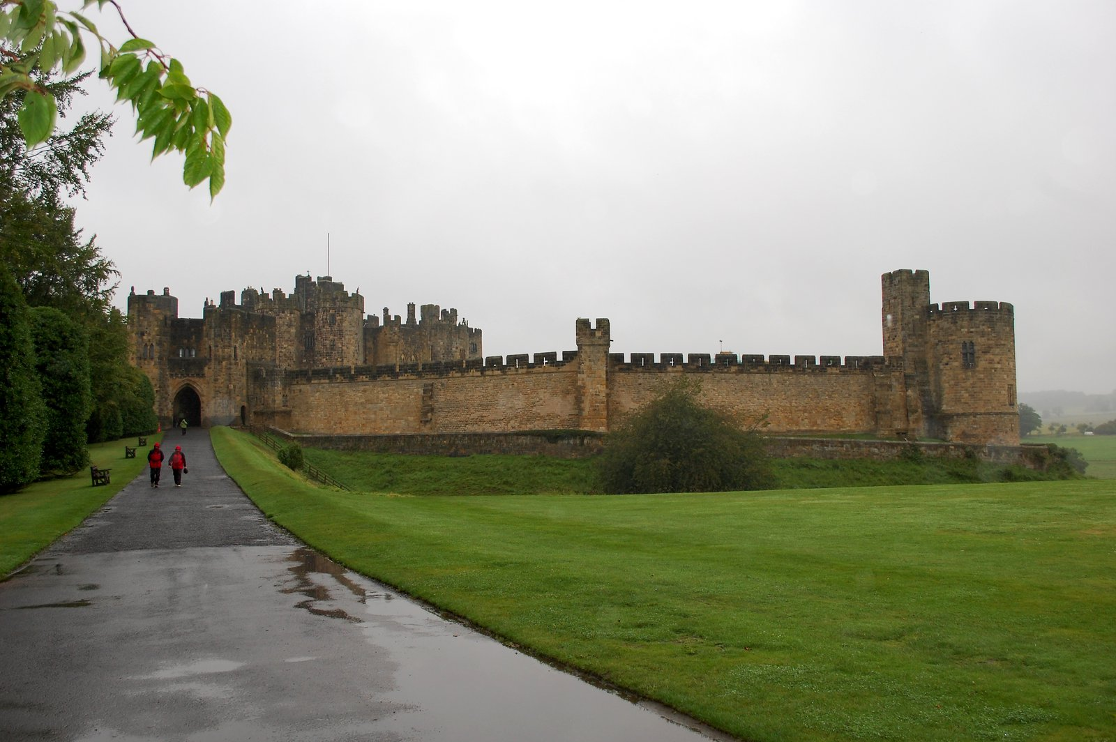 Alnwick Castle On A Dreich Day