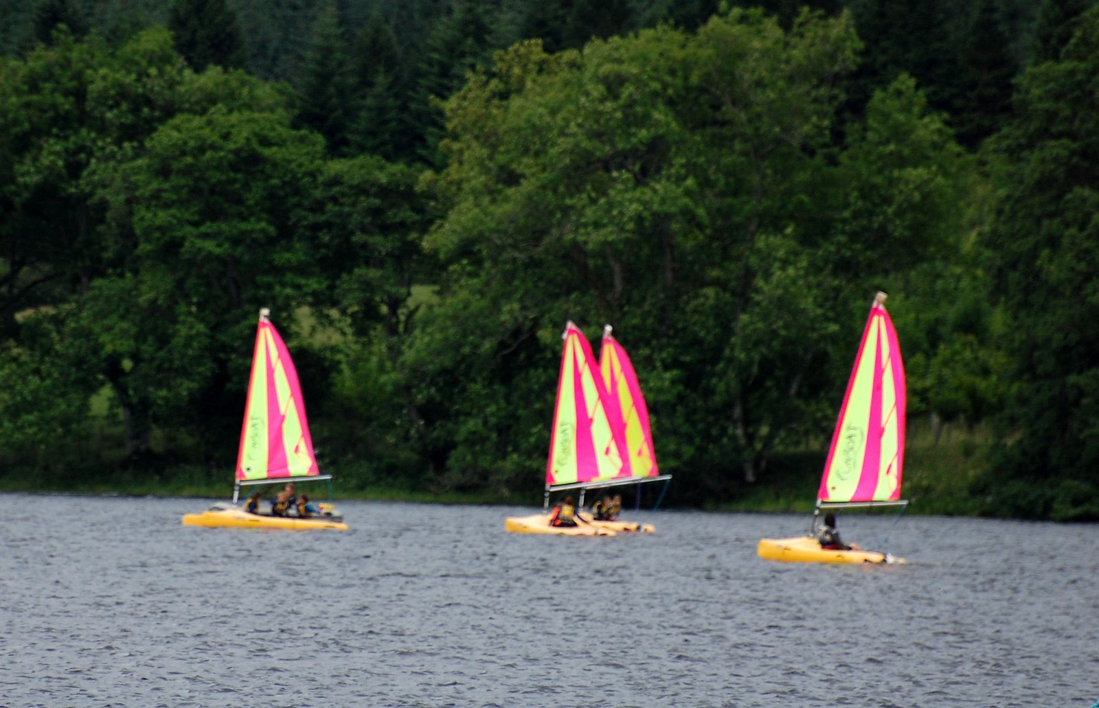 Boats On Loch Ken