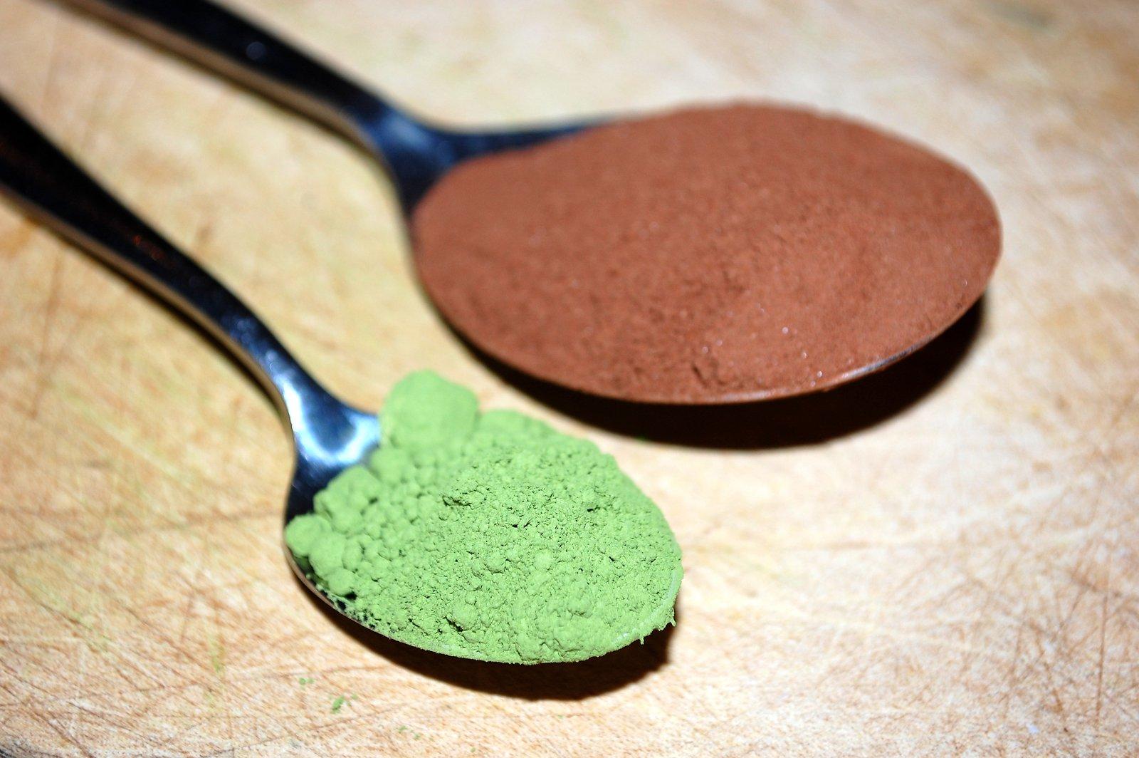 Steenbergs Matcha Tea And Cocoa Powder