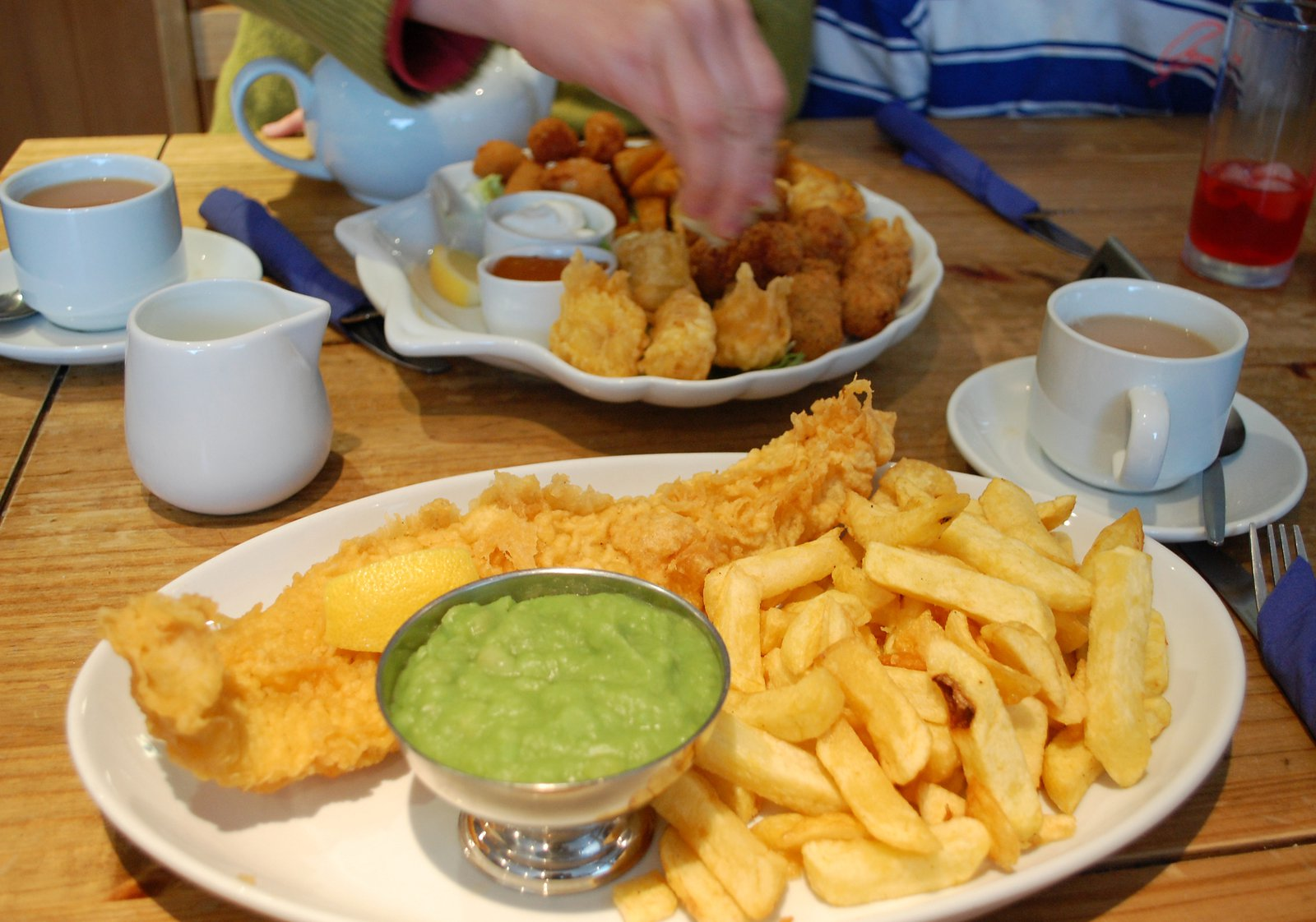 Traditional Fish And Chips At Polarbites In Kirkcudbright