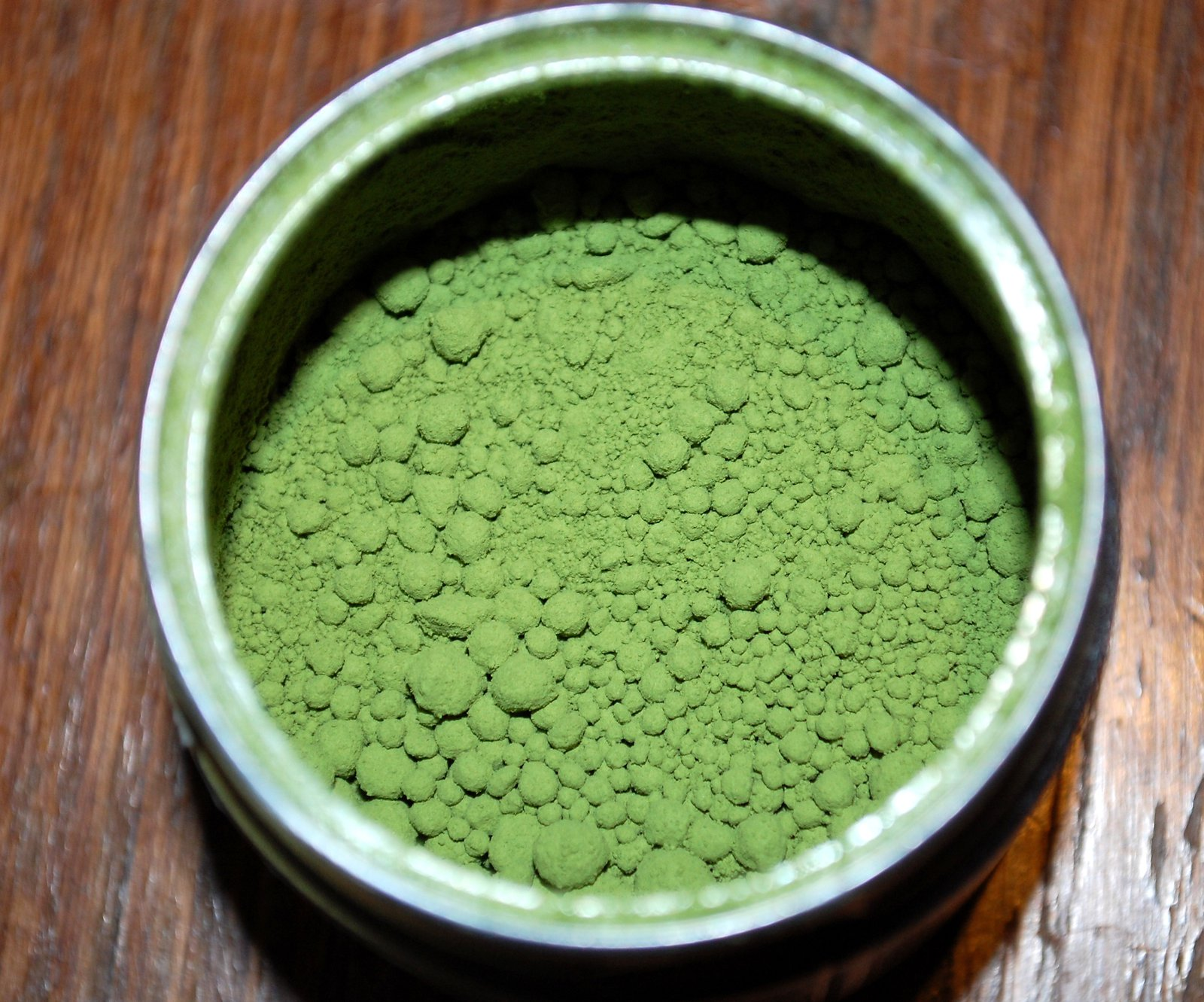 Matcha Tea Looking Like Green Paint