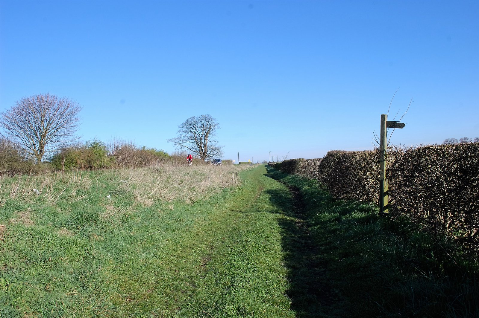 Dere Street, now Boroughbridge Road, With A Really Wide Verge