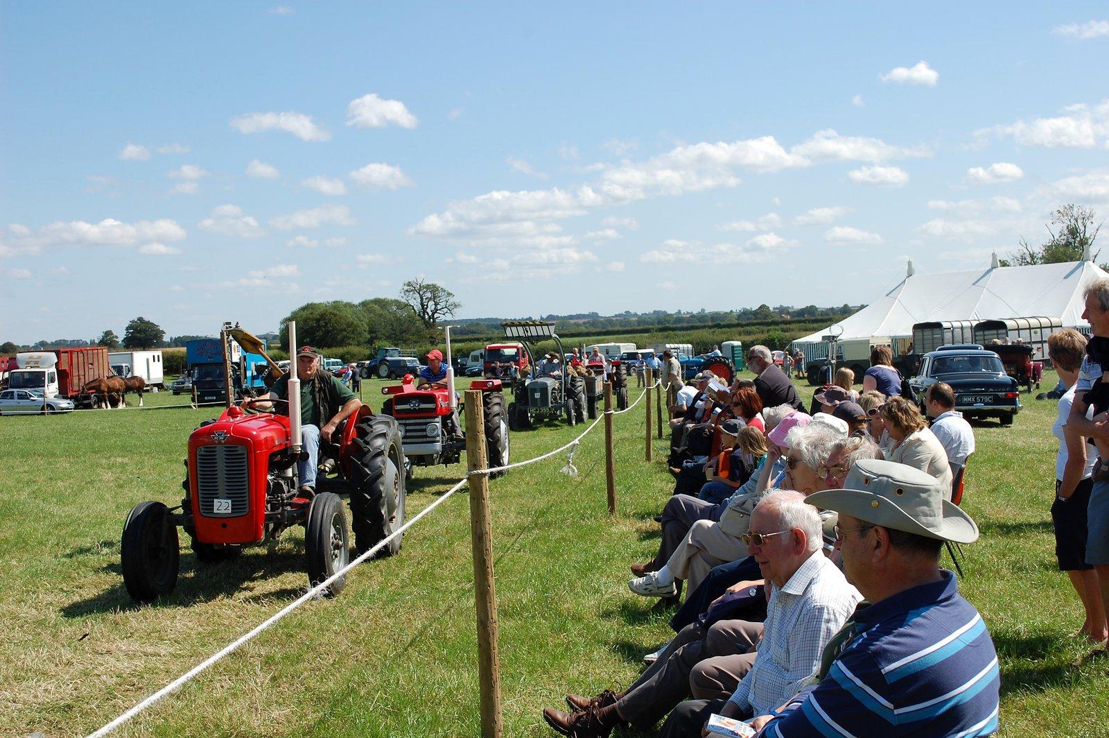 Parade Of Vintage Tractors