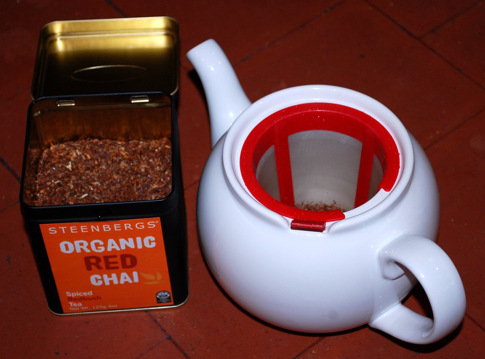 Brew Your Rooibos Tea