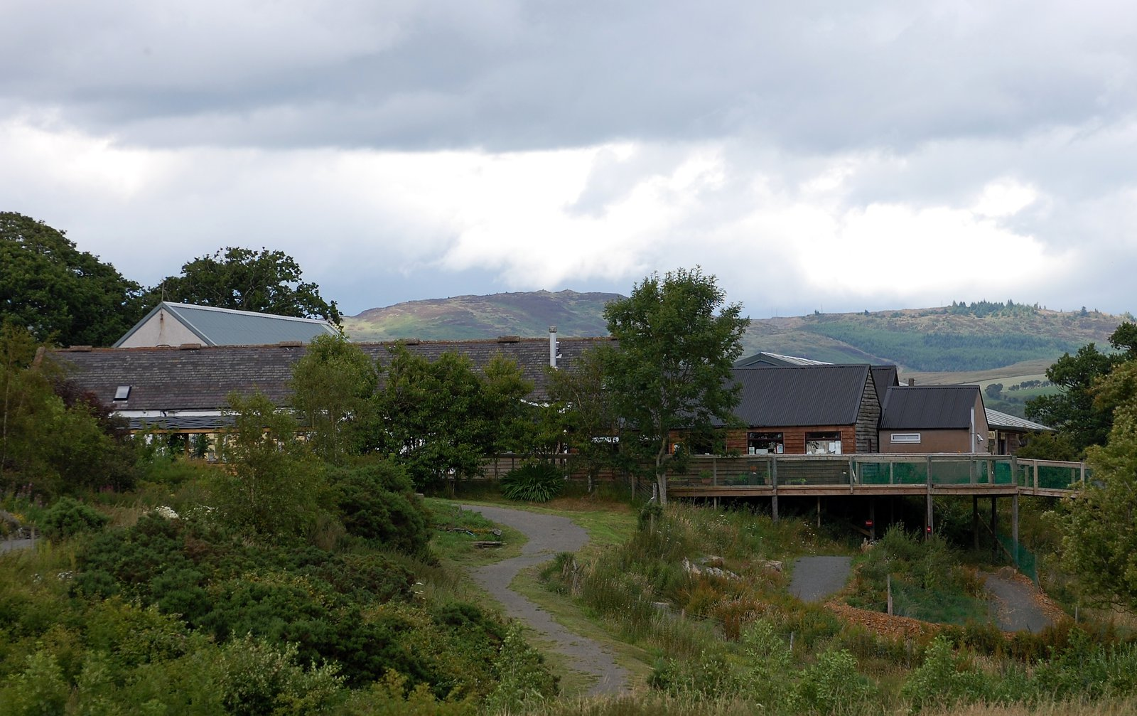 Cream O'Galloway Visitor Centre
