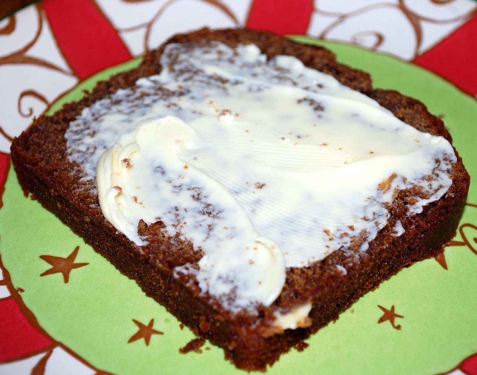 A Slice Of Homemade Gingerbread