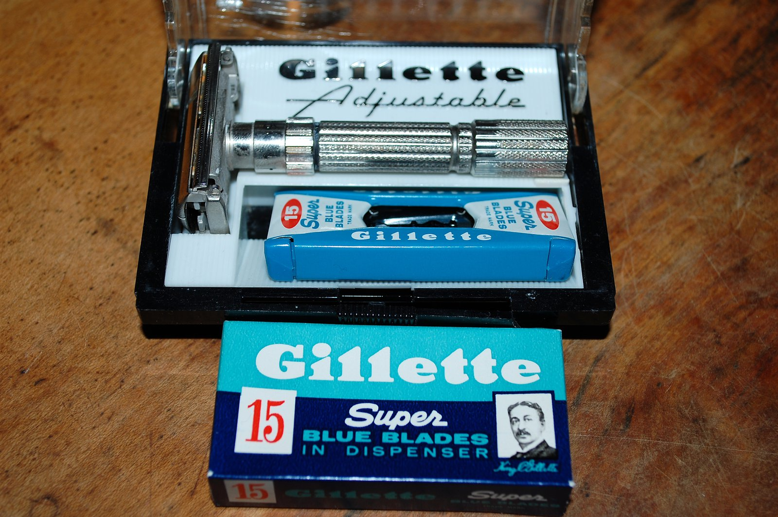Gillette Fatboy With Case And Blades