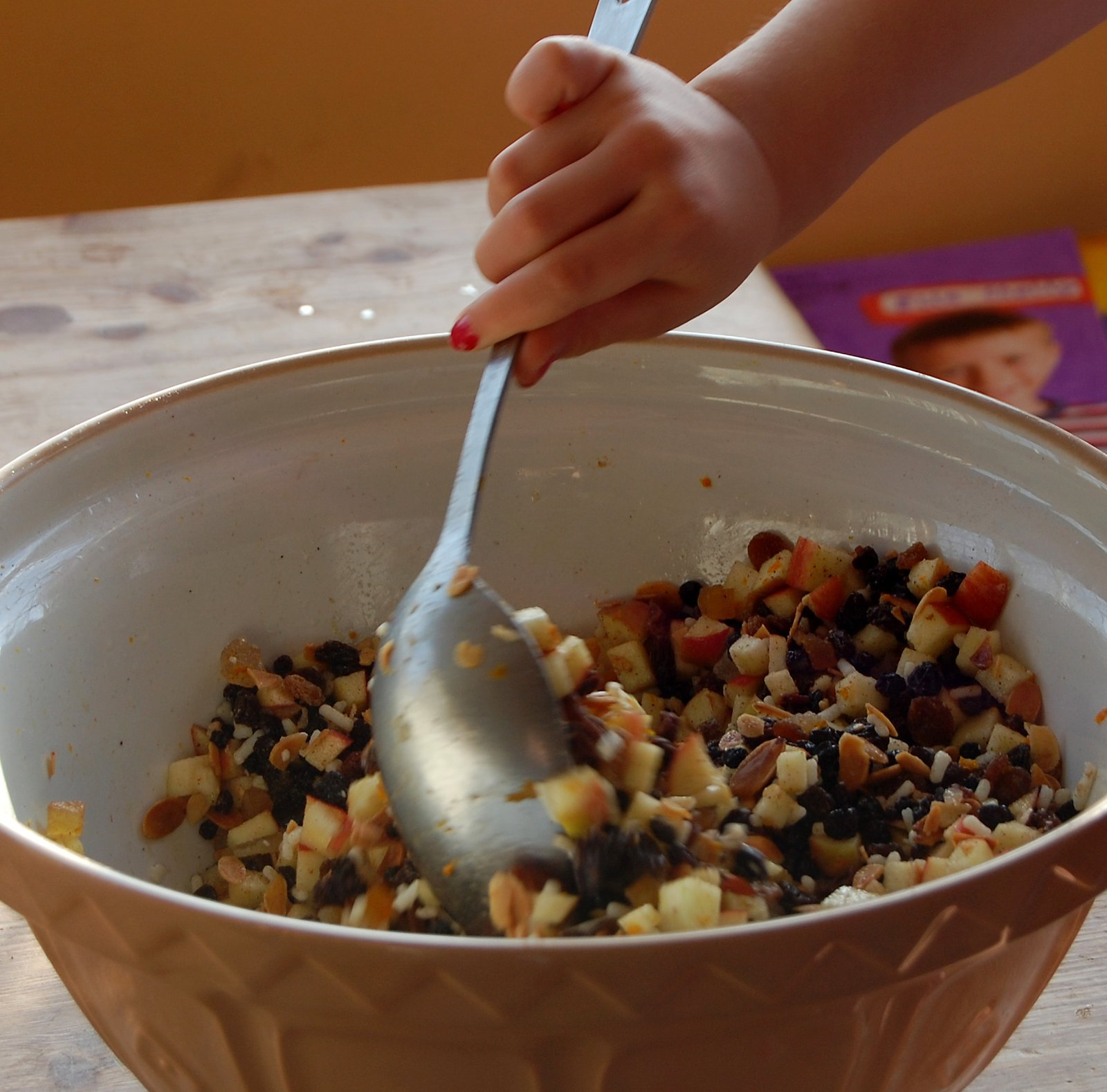 Mixing up the mincemeat