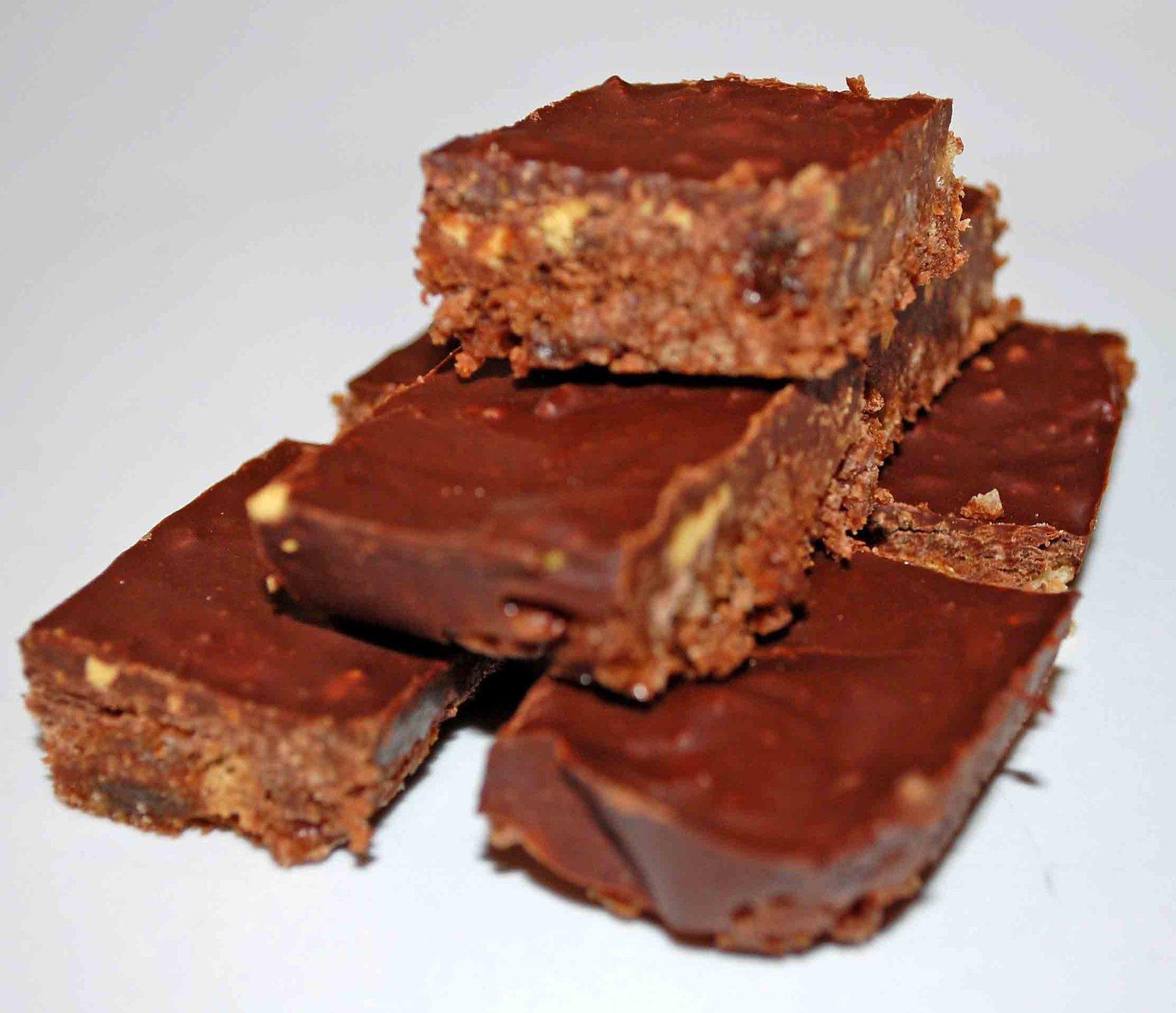 Crunchie Chocolate Traybake