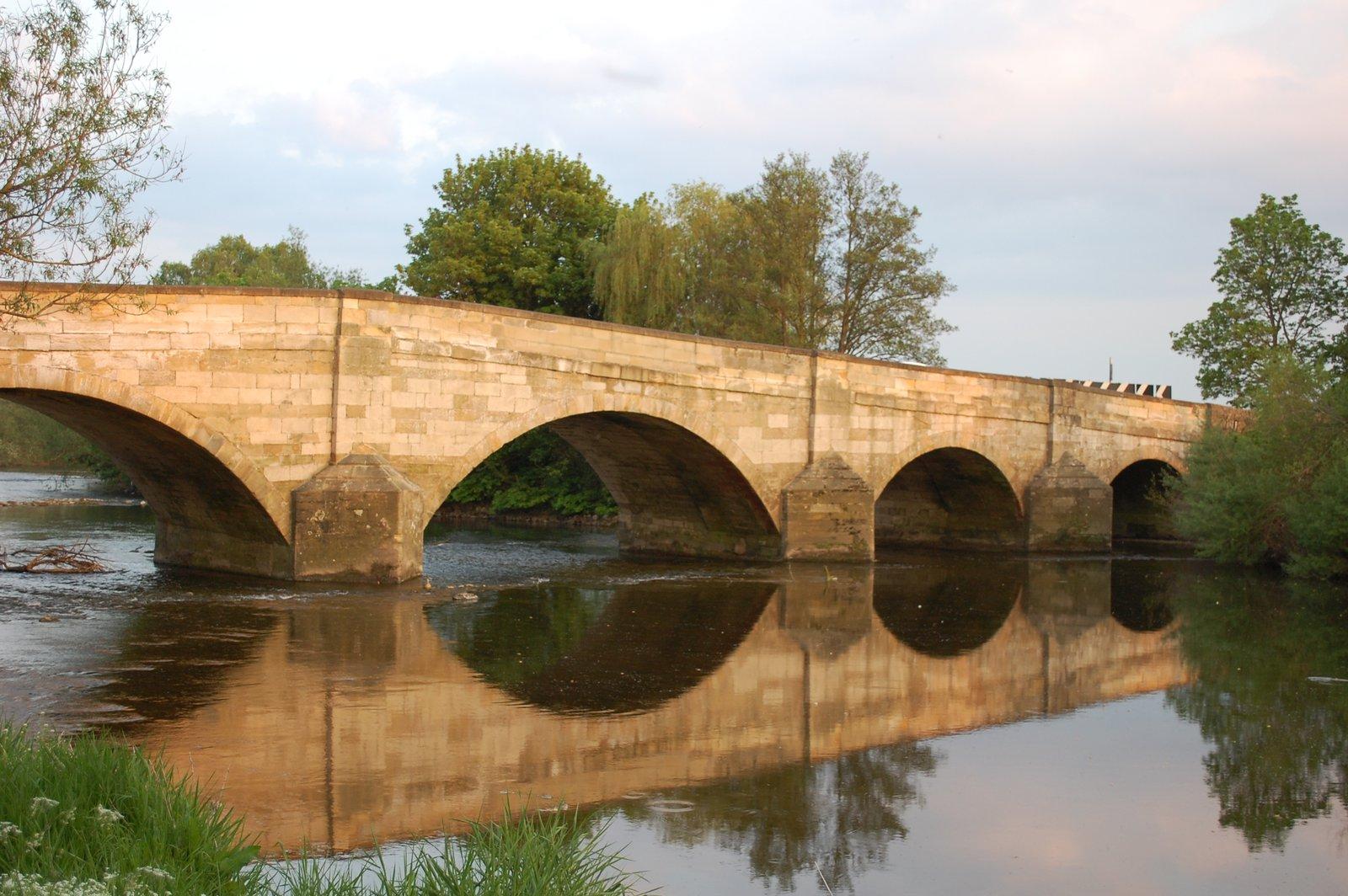 Hewick Bridge In Ripon , Yorkshire