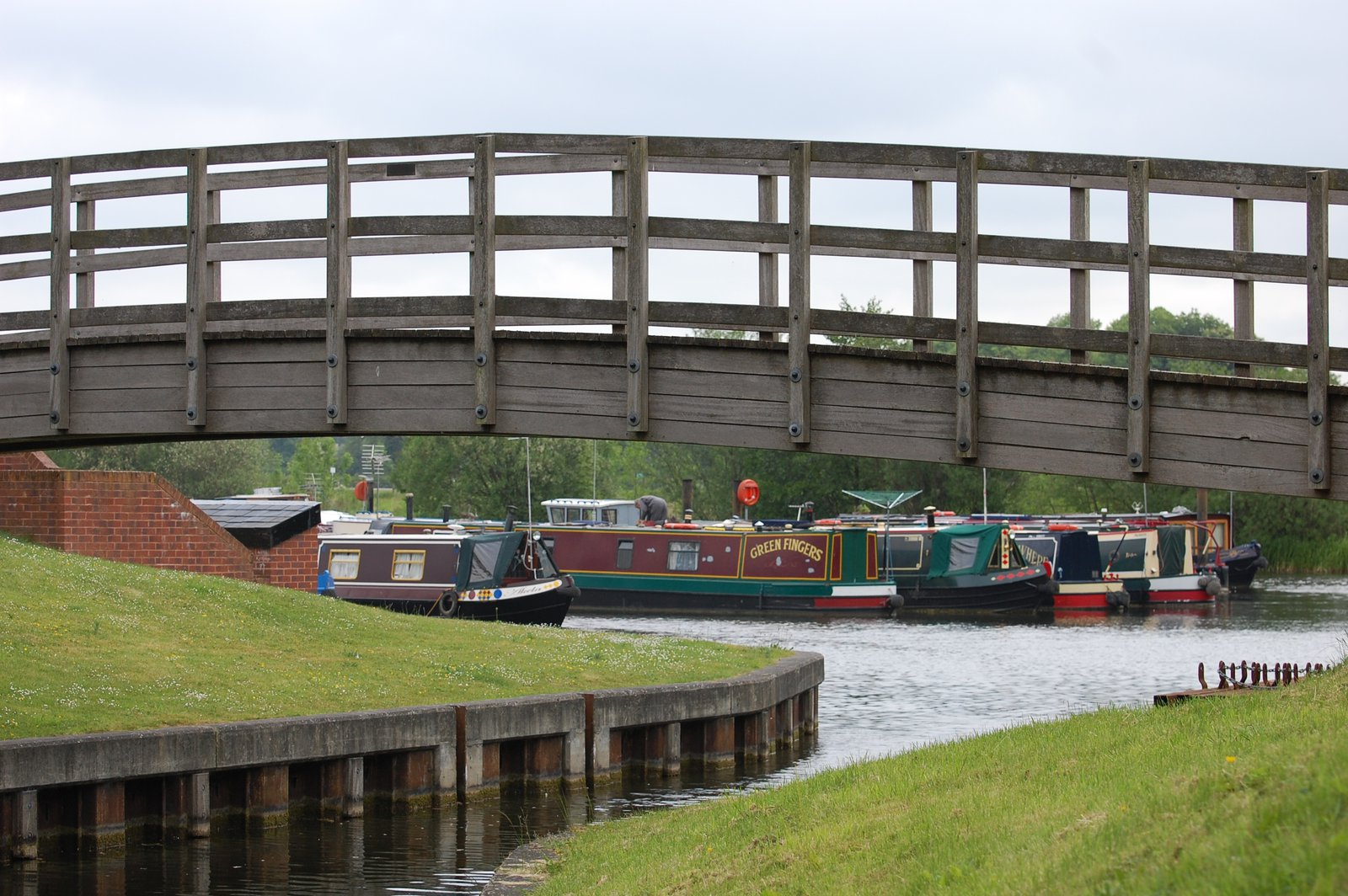 View To Smeaton's Marina On Ripon Canal