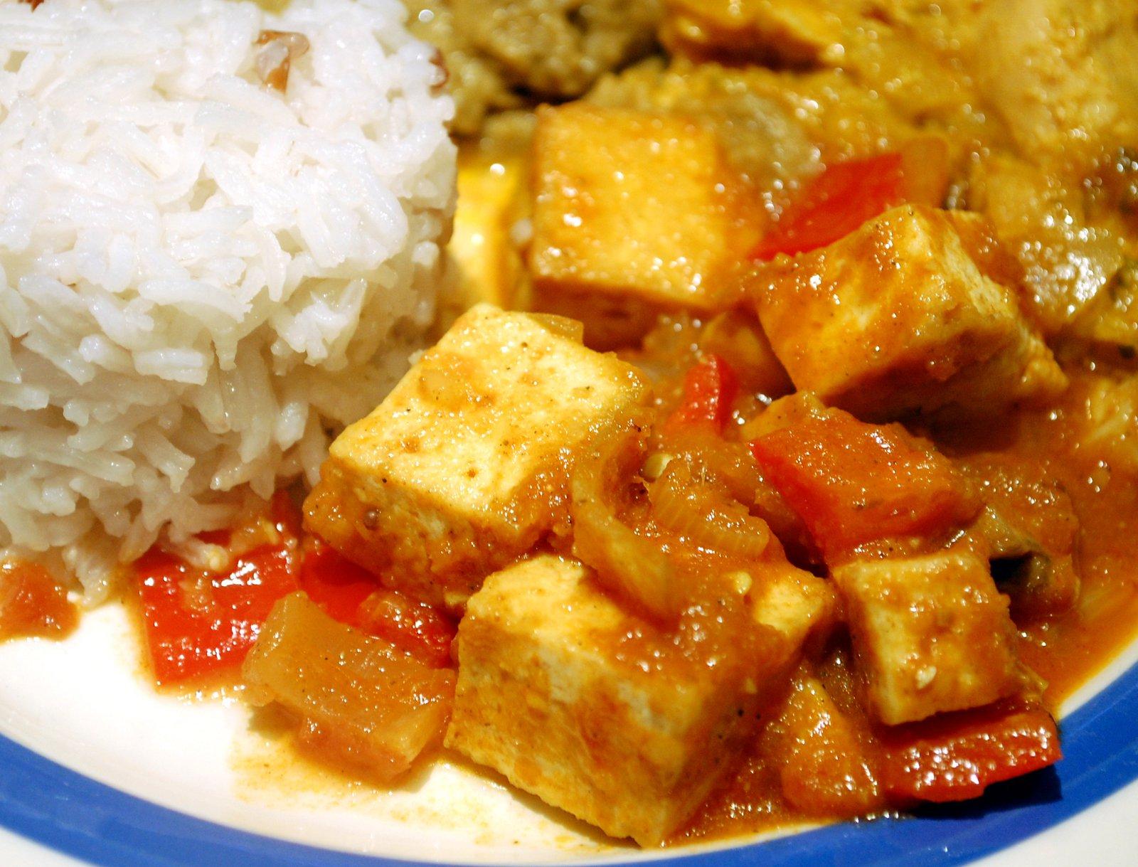 Vegetarian Tofu Balti