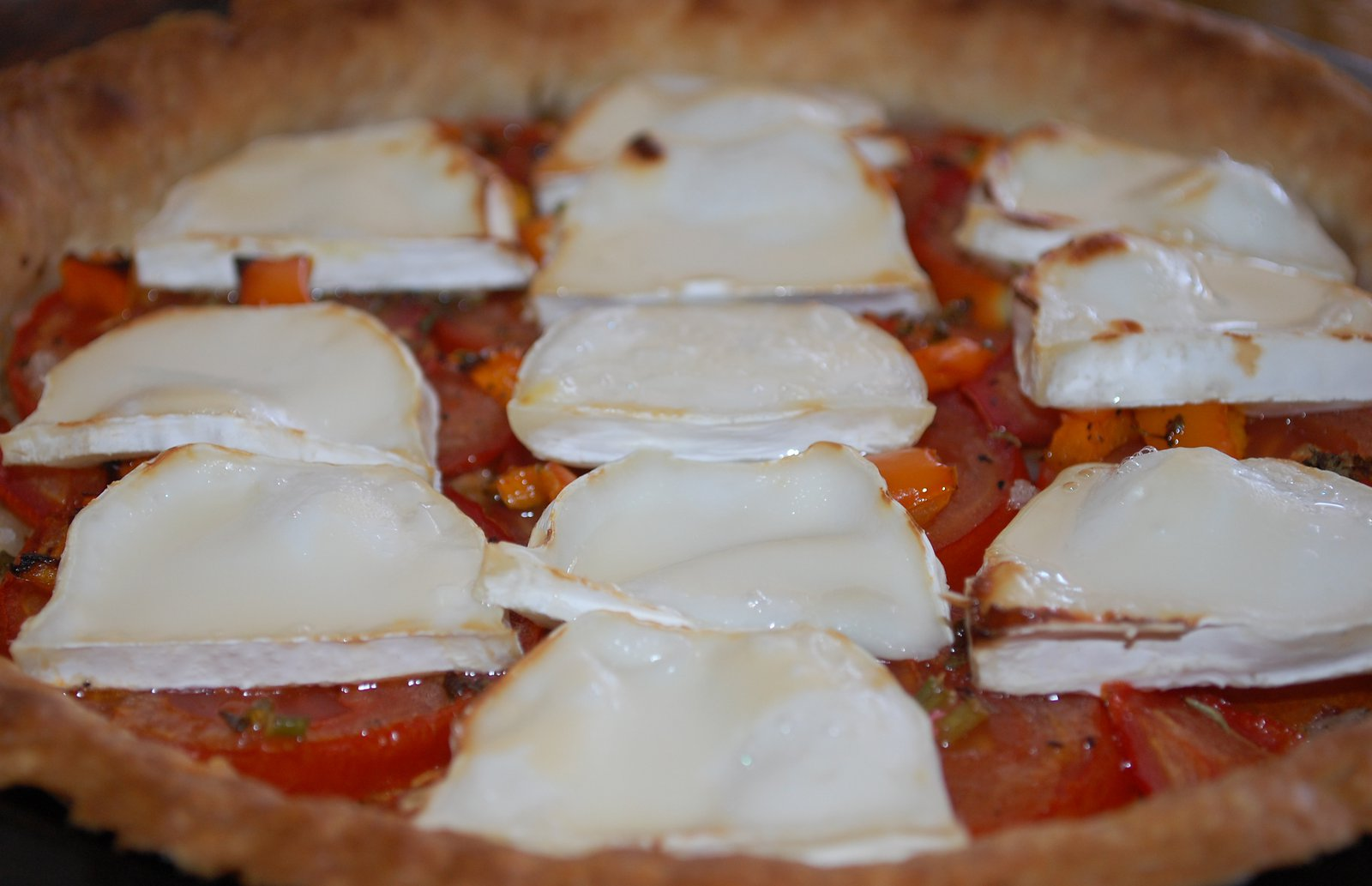 Cooked French Tomato Tart