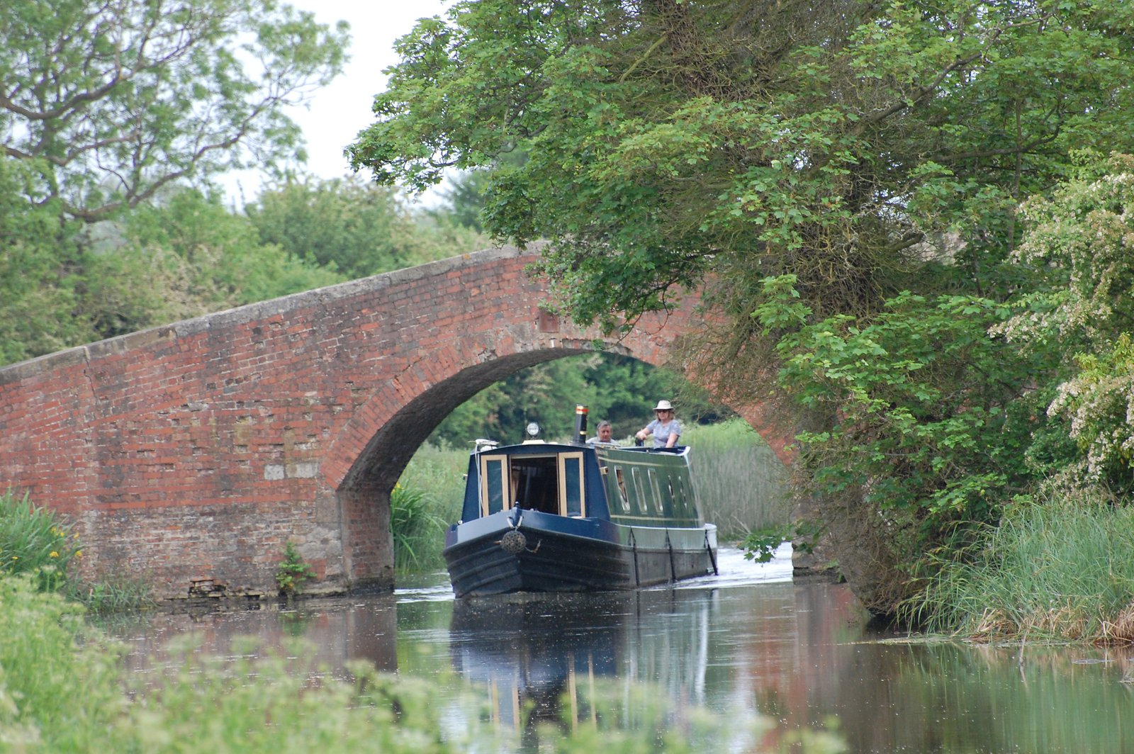 Narrow Boat Under Rentons Bridge