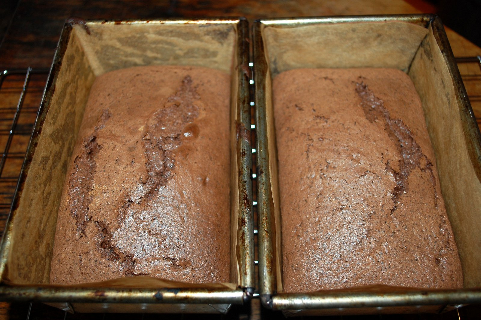 Two Chocolate Cakes