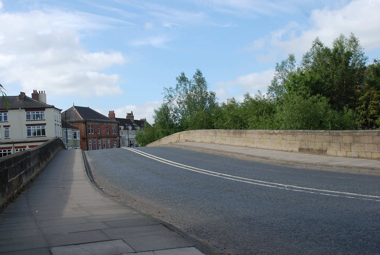 The Bridge In Boroughbridge From the North End Like Harcla