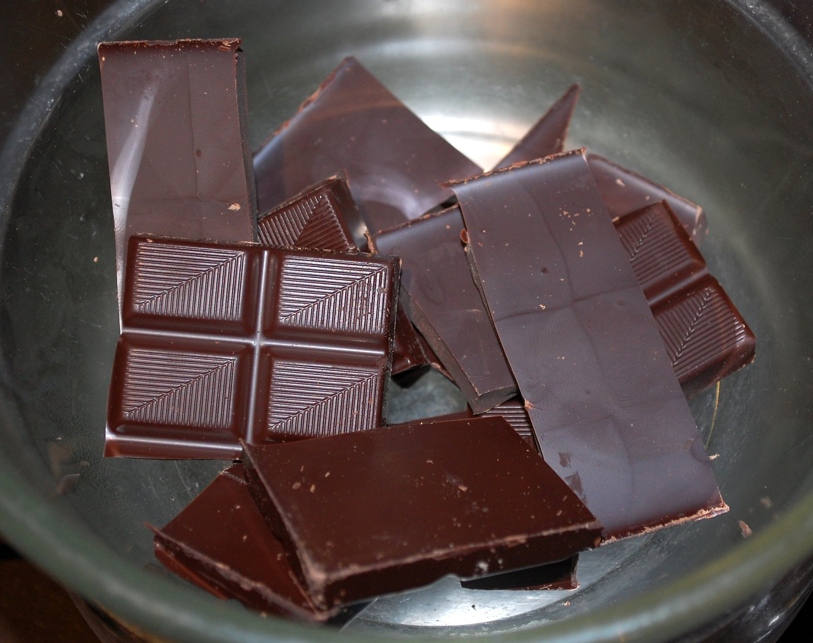 Break Up The Chocolate And Put Into Bowl