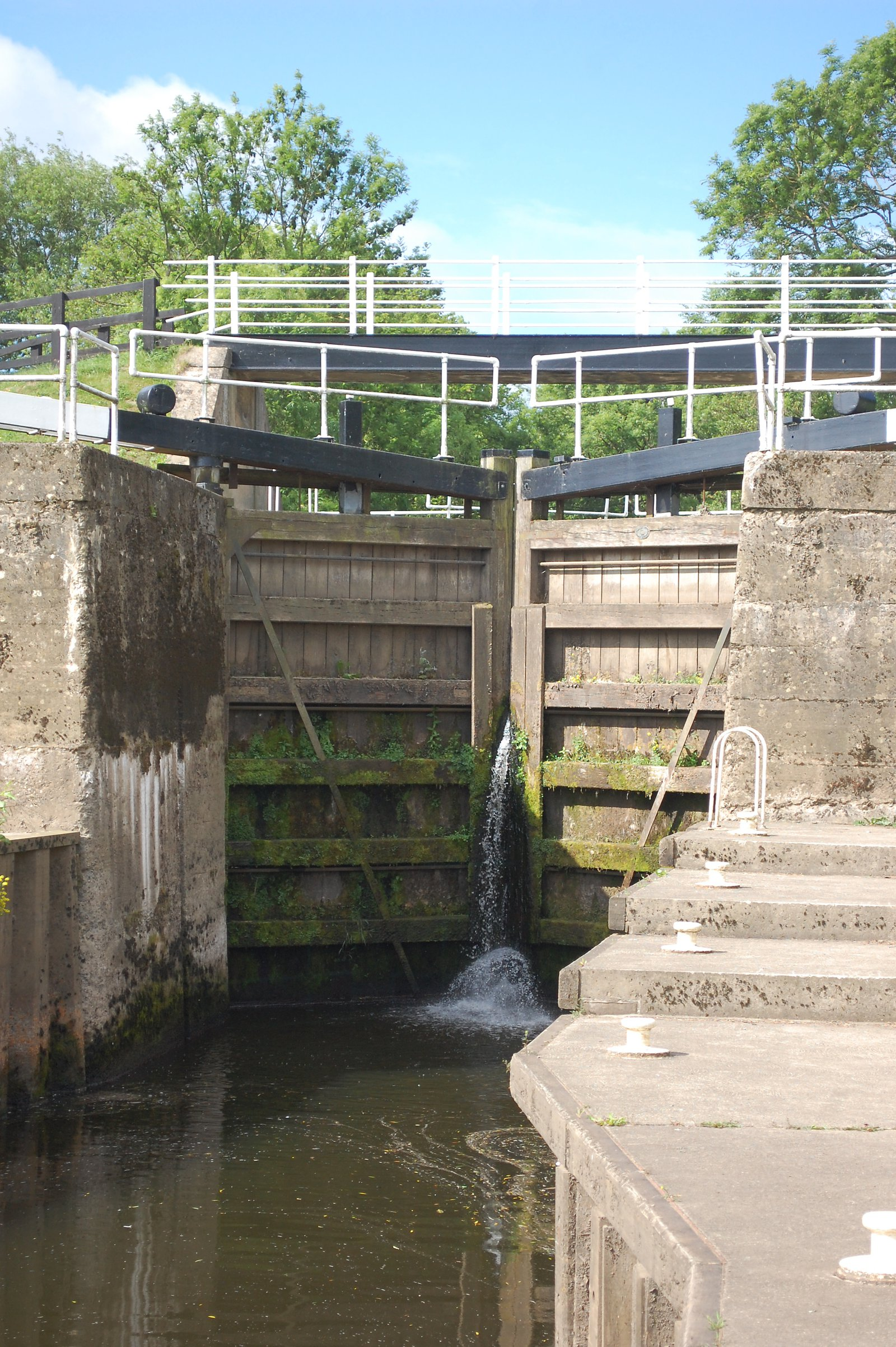 Milby Lock In Yorkshire