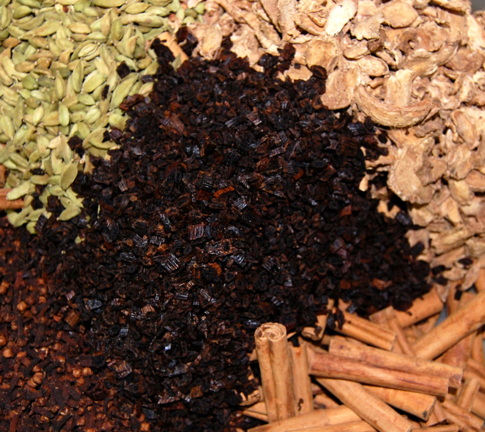 Whole Fairtrade Spices Ready For Grinding