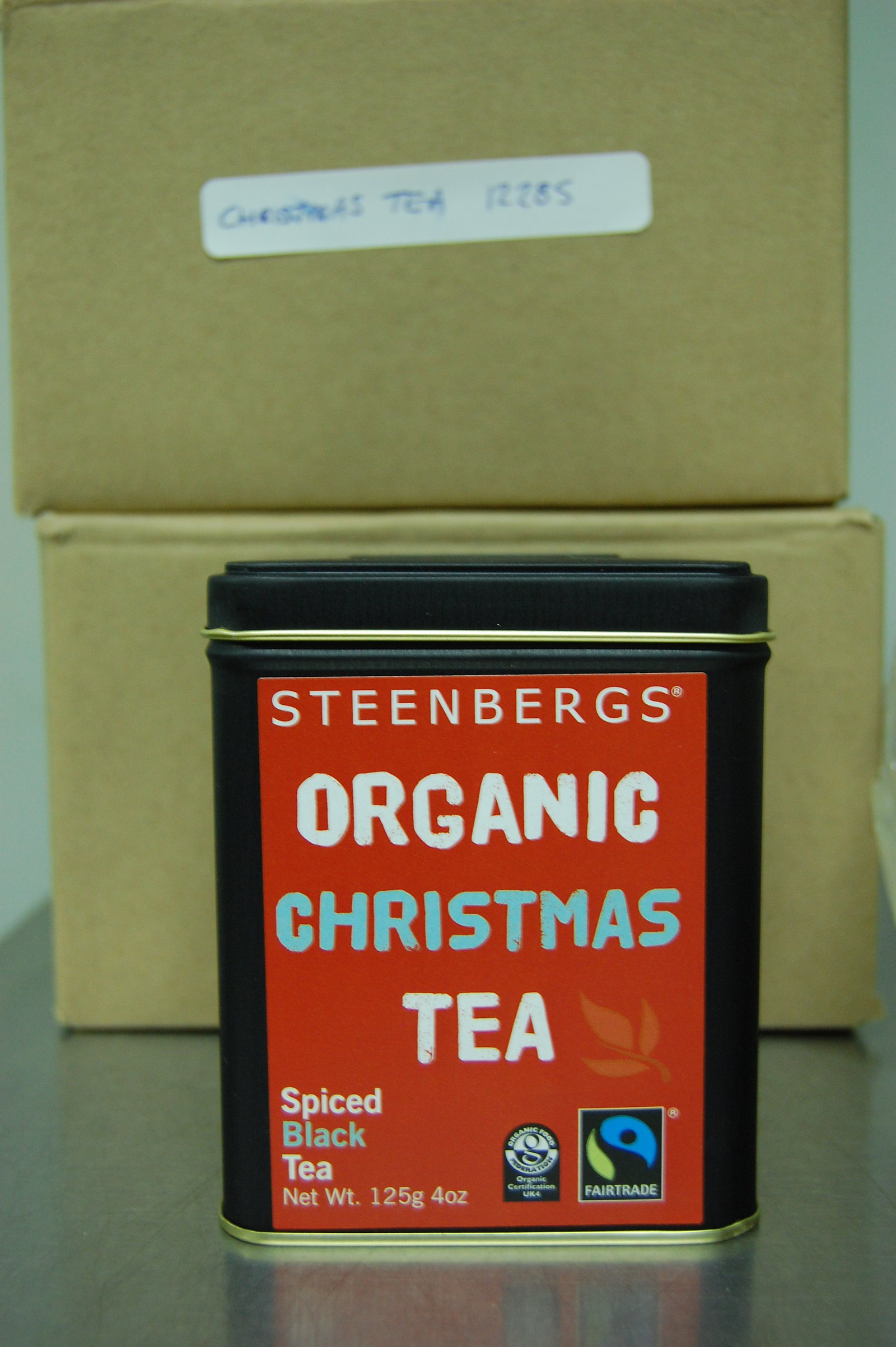 Steenbergs Organic Fairtrade Christmas Tea
