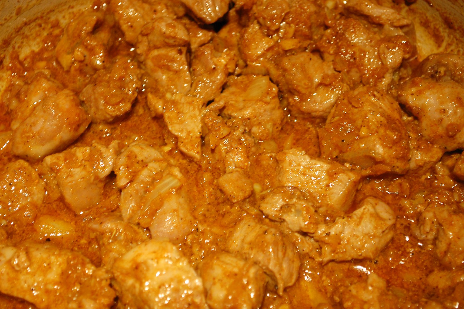 Cook The Lamb In The Korma Sauce