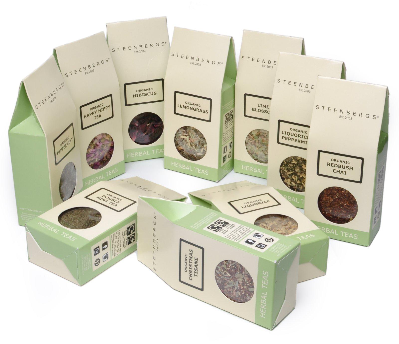 New Herbal Tea selection HR