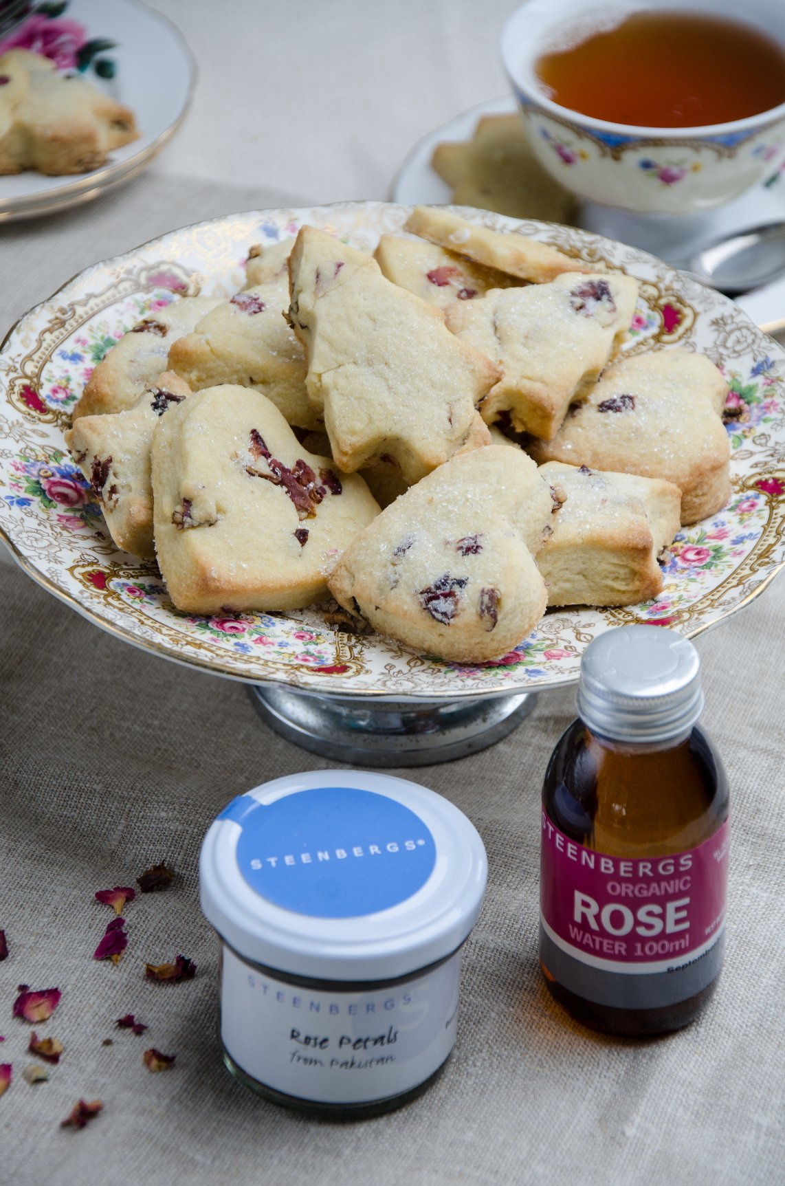 Rosewater Shortbread resized
