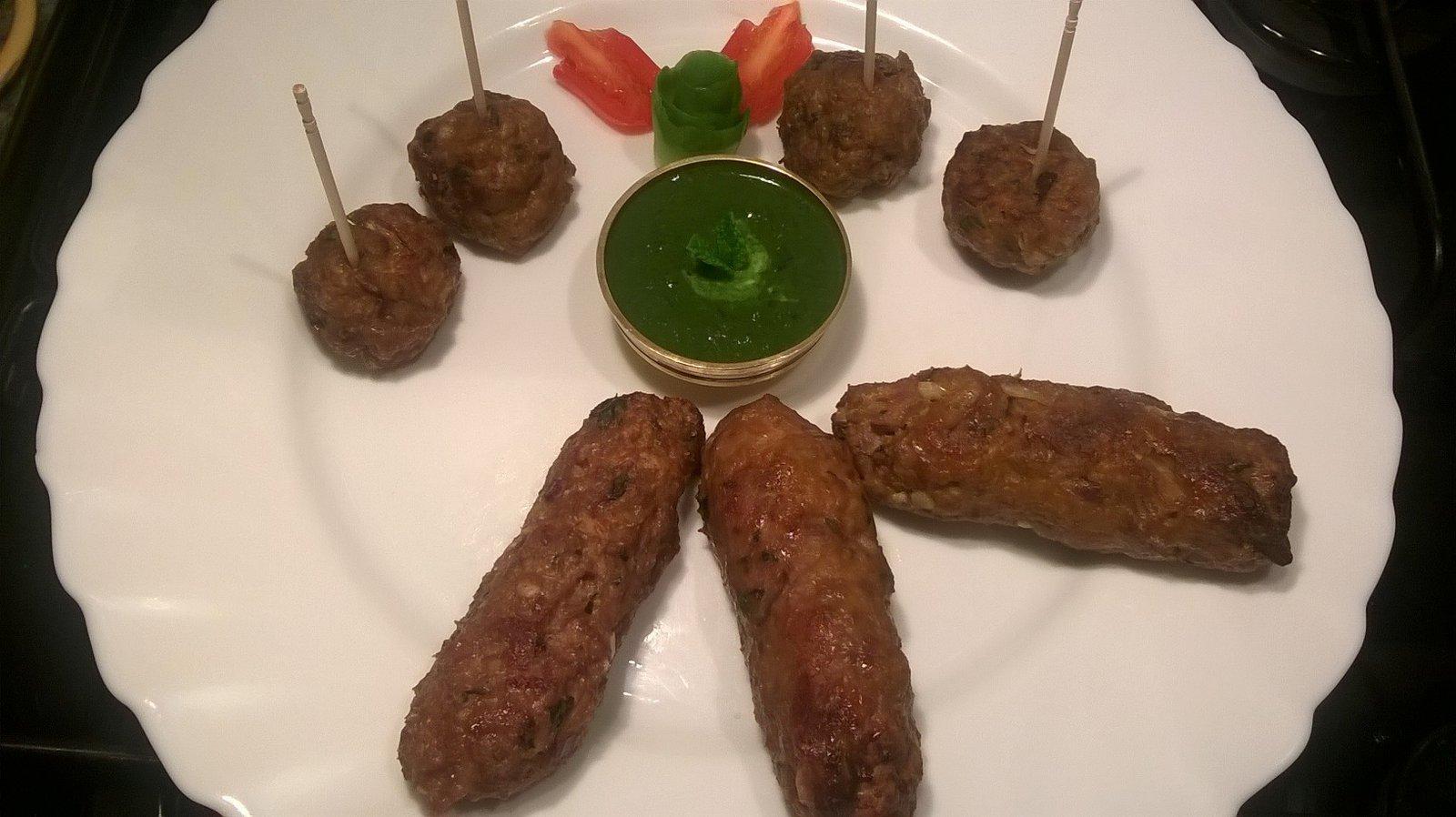 Sharmini tandoori shammi kebab
