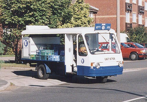 Electric Milk Float