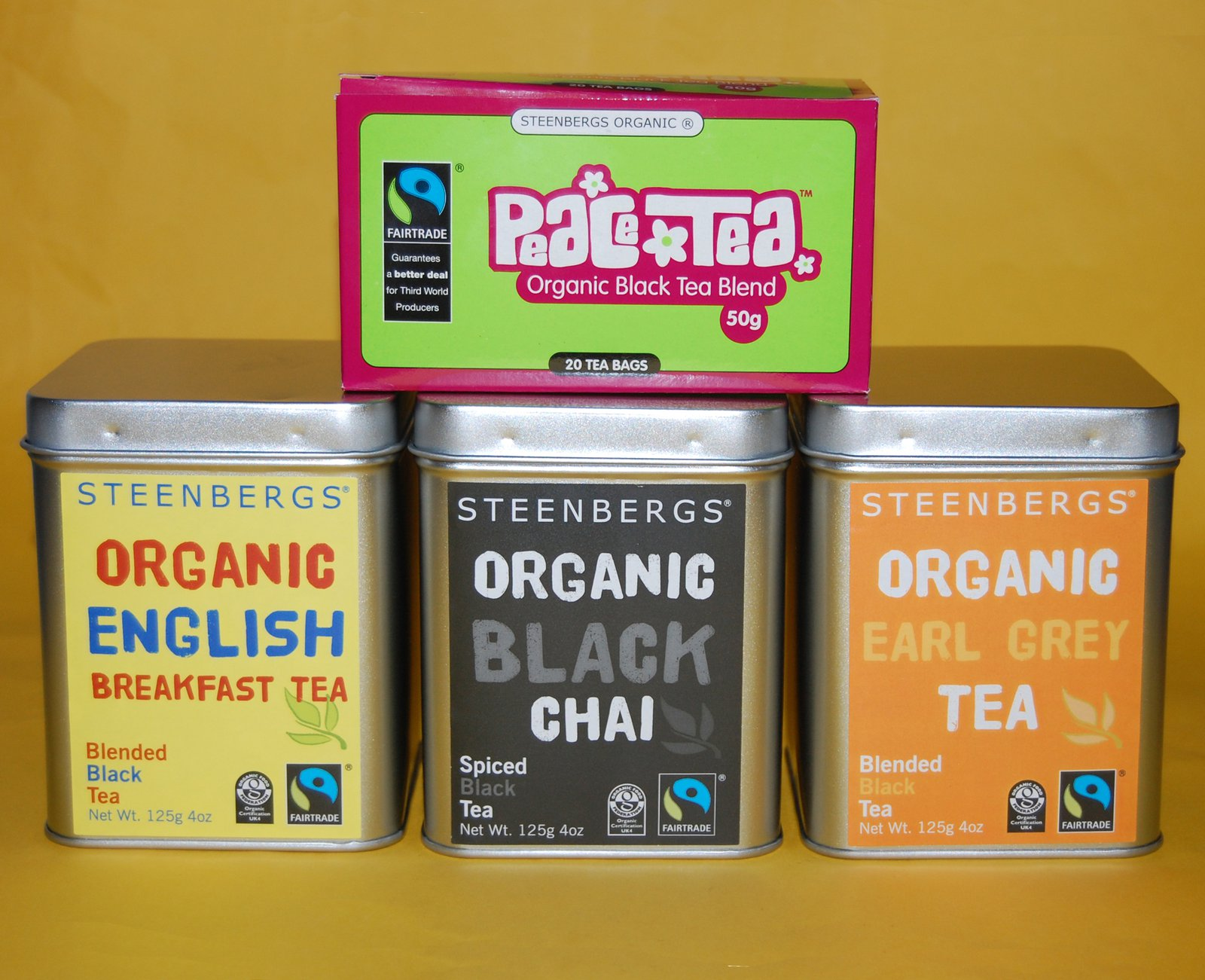 Steenbergs tea begins to take on it's own identity