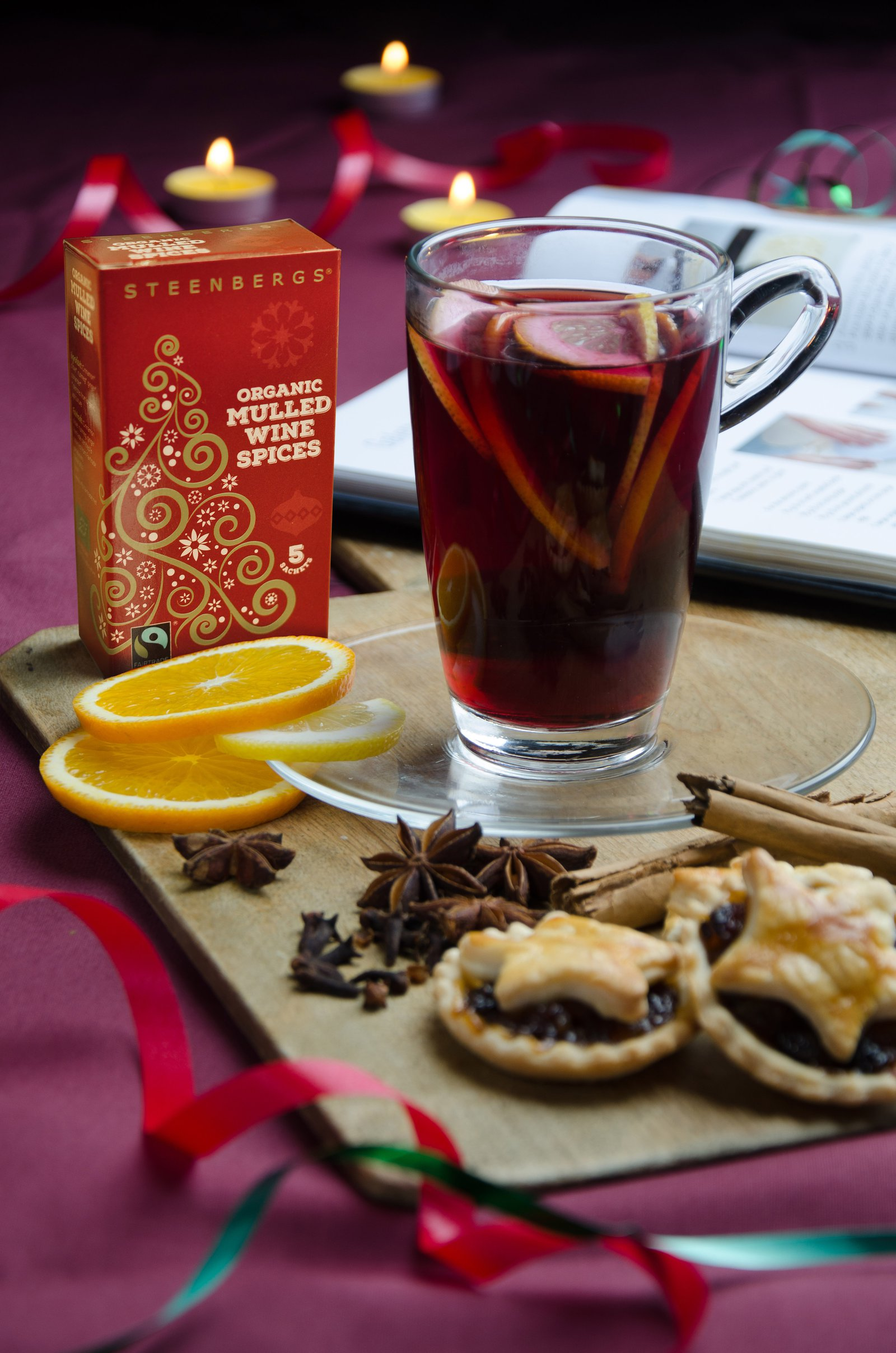 new mulled wine spice sachets