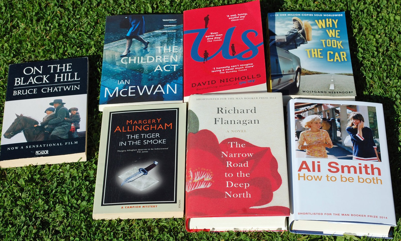 More of the Sophie's reading list from autumn 2015