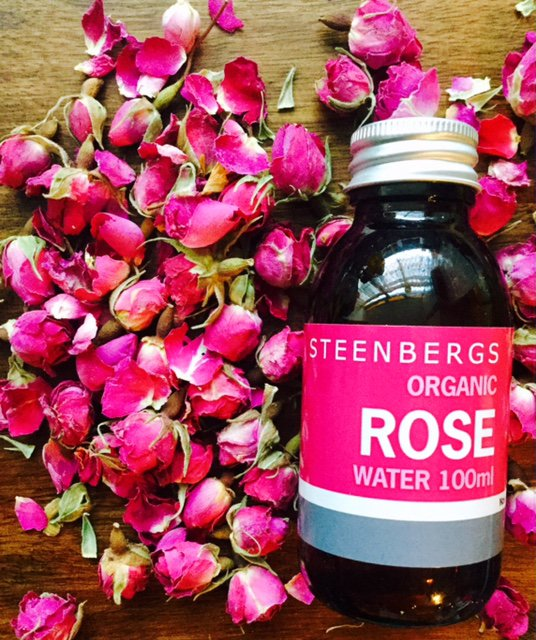 Steenbergs Organic Rose Water adds a wonderful floral flavour to baking and savoury dishes.