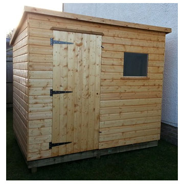 Pent Shed T&G