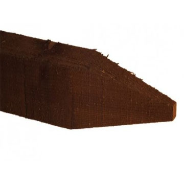 100mm x 100mm Pointed Fence Post