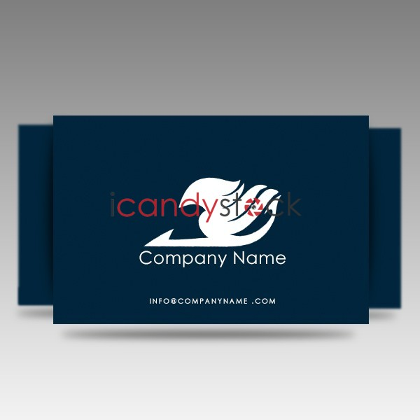 Blue insurance business card icandystock blue insurance business card colourmoves