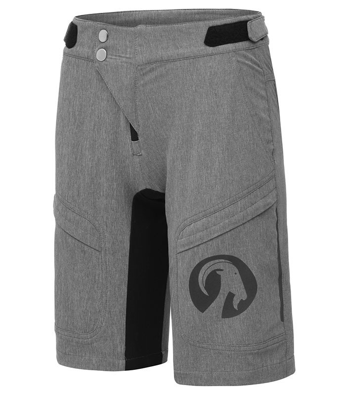 stolen goat womens grey gravel shorts