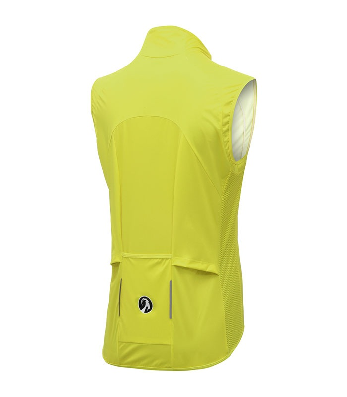 stolen goat womens bodyline core yellow gilet