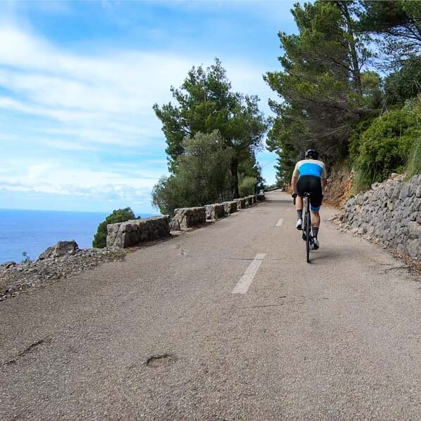 the road to port de valldemossa