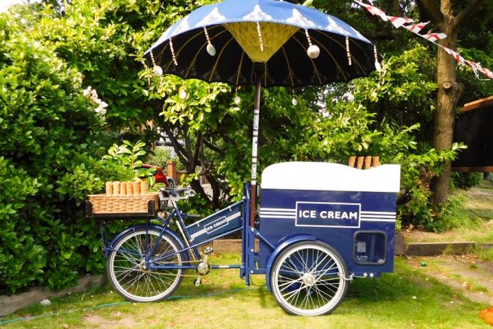 Tricycle Treats — Ice Cream