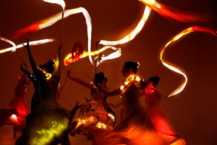 Ensemble Of Angels —LED Ribbons
