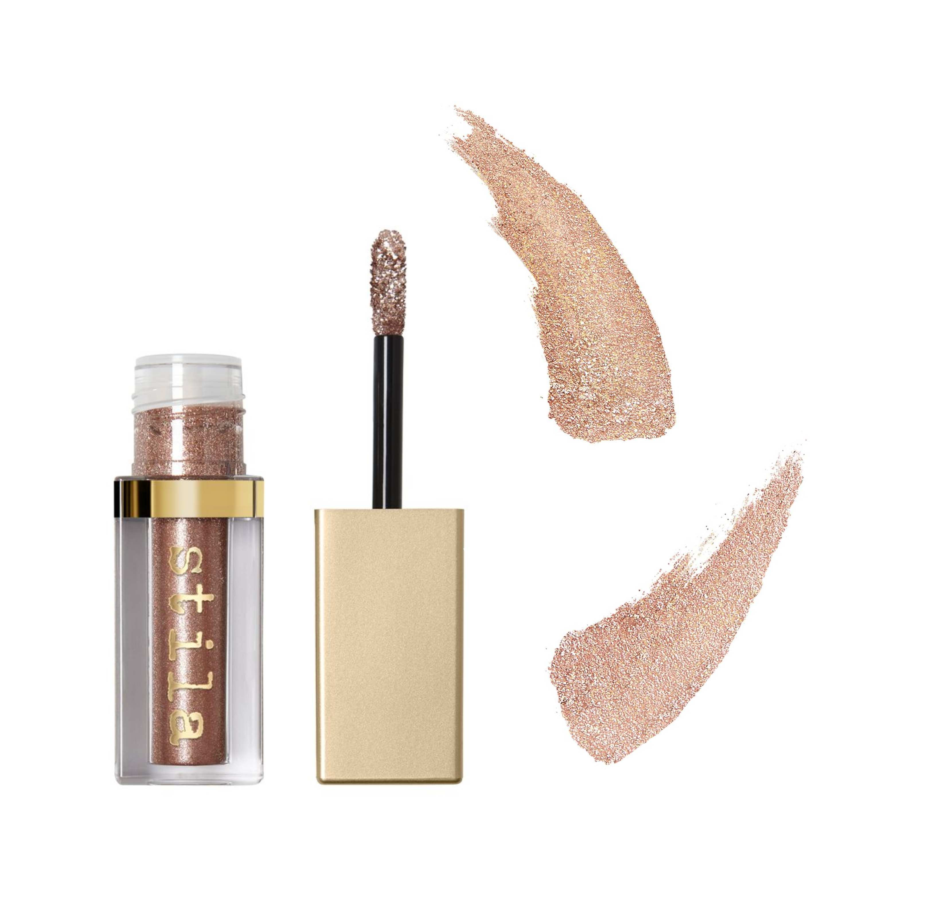 fc9e8f1eb6eb1 If you can't wear glitter in the festive season then when can you? For a  fuss-free, no-glitter-glue-needed sparkle, apply the Stila Magnificent  Metals ...