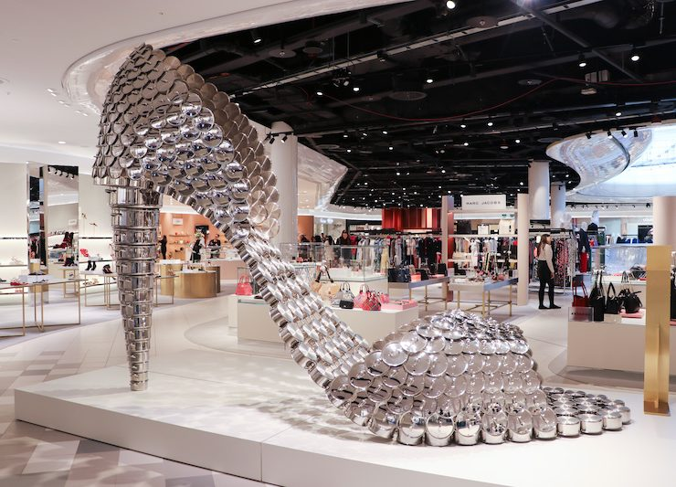 23fd14077f9c5 Selfridges teams up with Ikon Gallery to reveal thought-provoking art