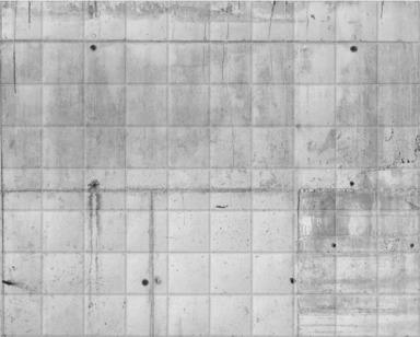 Concrete Grid White