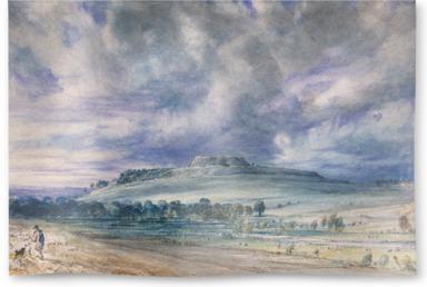 Old Sarum; 1834